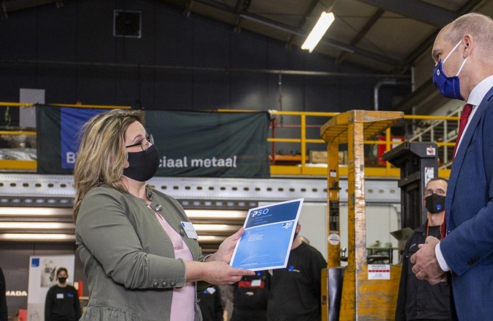 BVS Sociaal Metaal eerste metaalbedrijf in Nederland met PSO30+ certificering